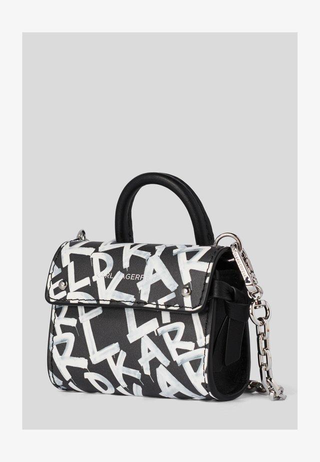 Bolso de mano - black/ white