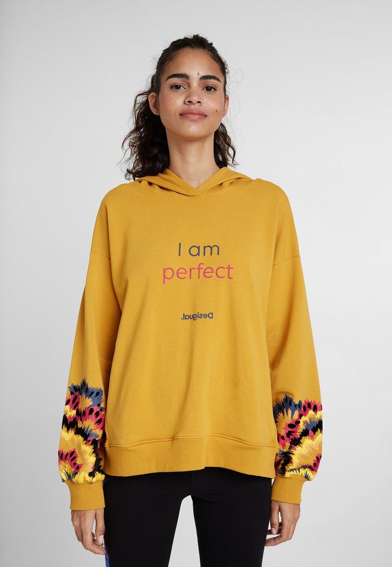 Desigual - GALACTIC - Hoodie - yellow