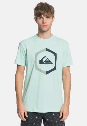 SURE THING - Print T-shirt - green