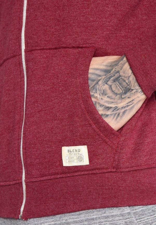 Blend REGULAR FIT - Bluza rozpinana - zinfandel/bordowy Odzież Męska CDXN