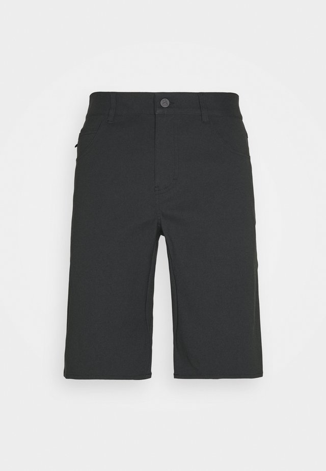 PEDALZ CHINO SHORTS MENS - Urheilushortsit - pirate black