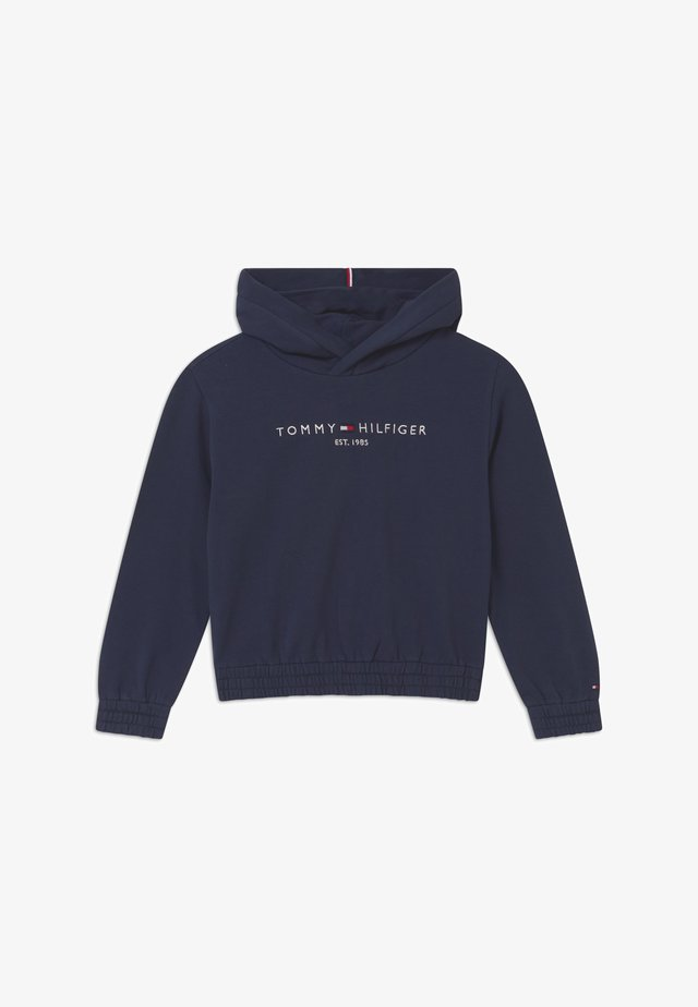 ESSENTIAL HOODED  - Sweat à capuche - blue