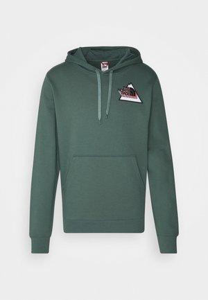 THREEYAMA HOODIE - Sweatshirt - balsam green