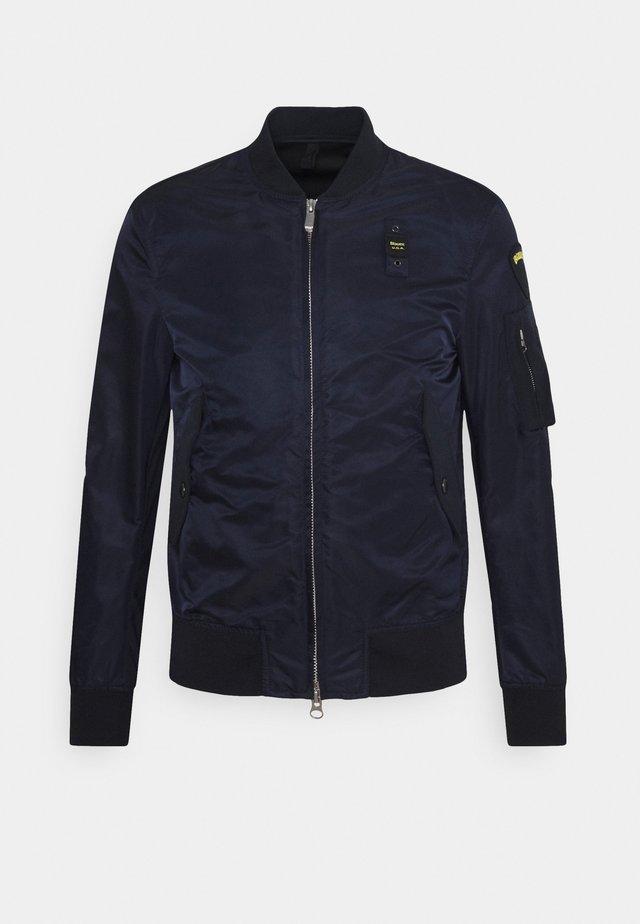 Bomber Jacket - blue