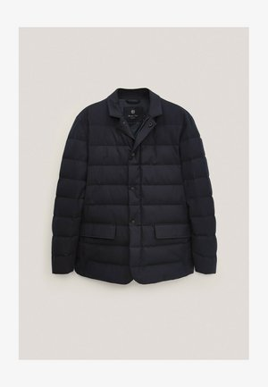 Down jacket - blue-black denim