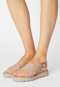 Even&Odd - Platform sandals - beige - 0