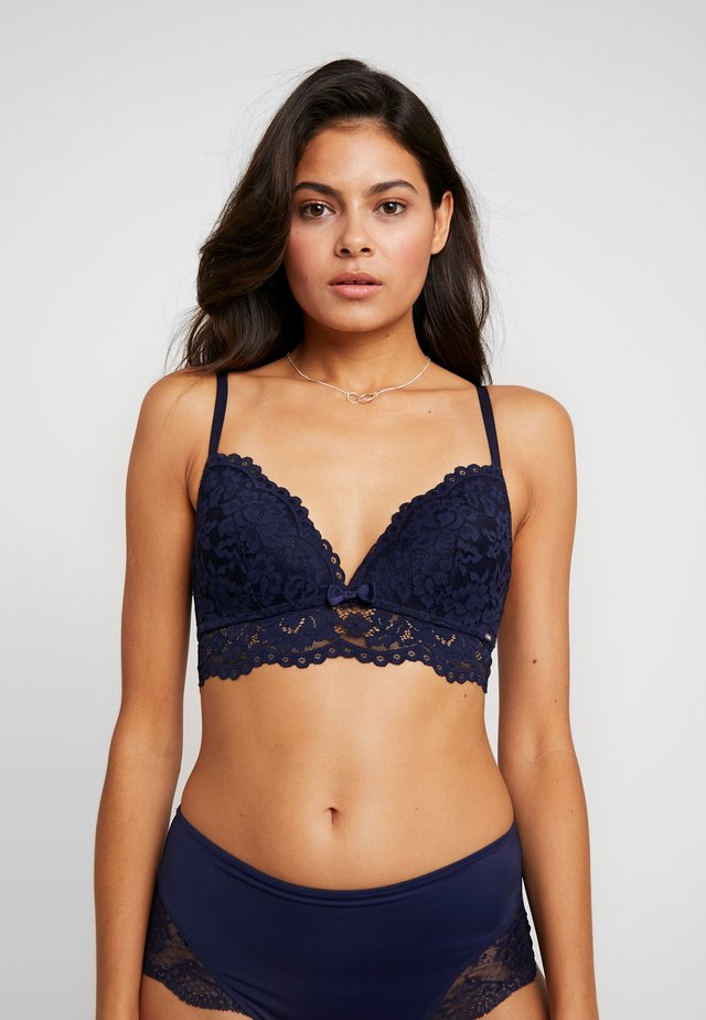IDA GEPADDET - Triangle bra - maritime blue