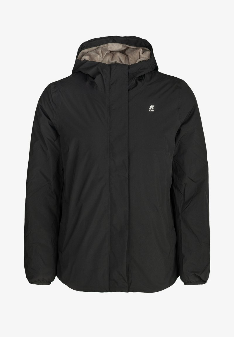 K-Way - Winter jacket - black  pure