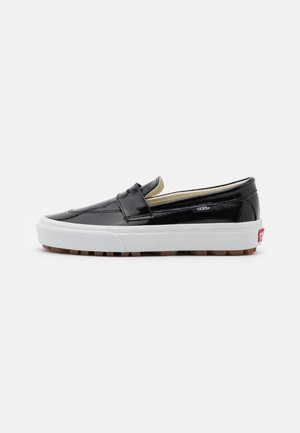 STYLE - Slippers - black/true white