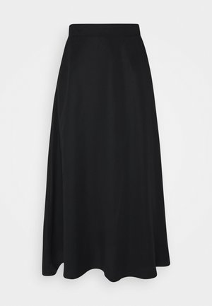 OBJTILDA  - A-line skirt - black