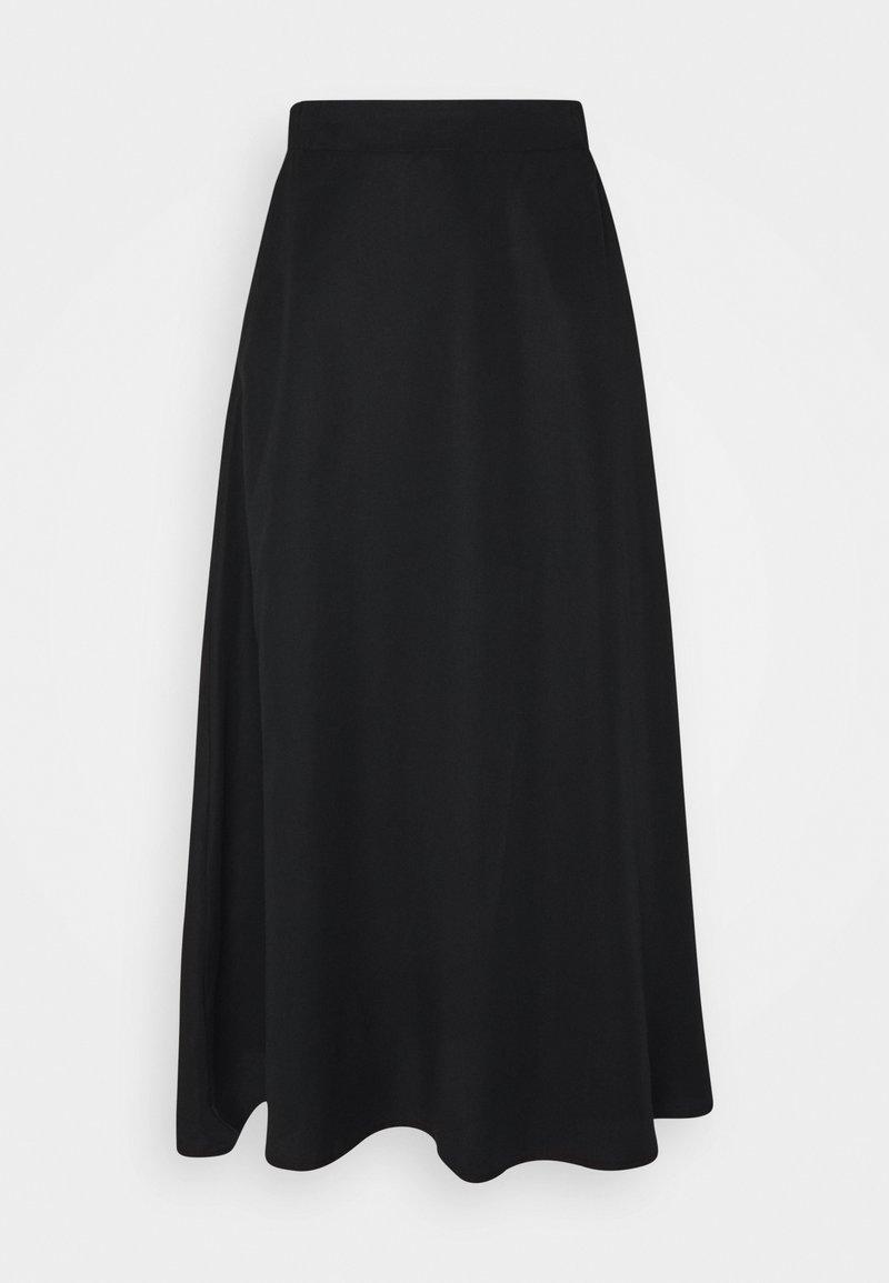 Object - OBJTILDA  - A-line skirt - black