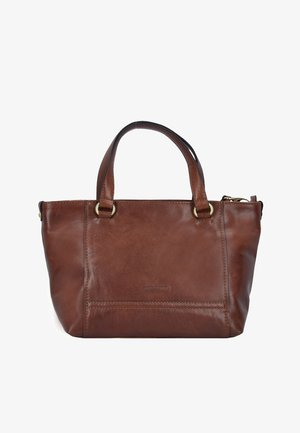 LUGANO - Handbag - brown