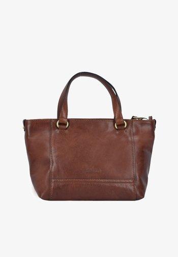 LUGANO - Handbag - brown