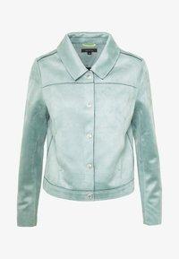 comma - JACKET - Faux leather jacket - smokey blue - 5