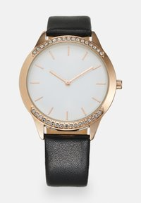 Anna Field - Watch - black/rose gold-coloured - 0