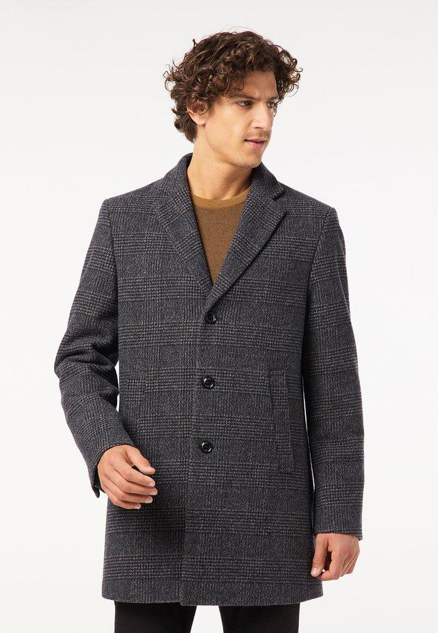 Manteau classique - blau/beige