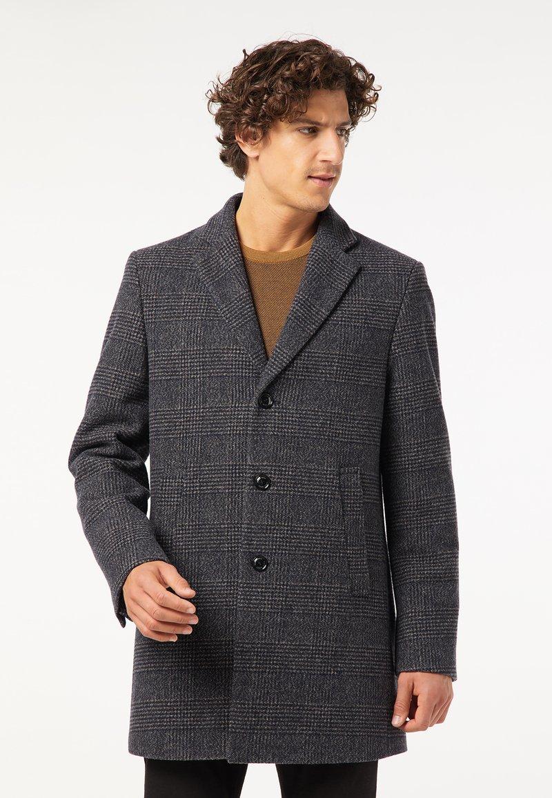 Pierre Cardin - Classic coat - blau/beige