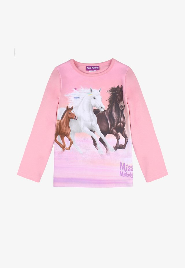 MISS MELODY - Long sleeved top - sea pink