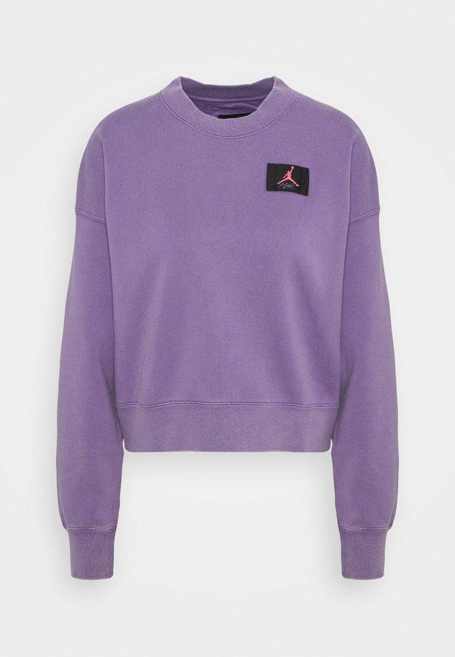 FLIGHT CREW - Felpa - wild violet