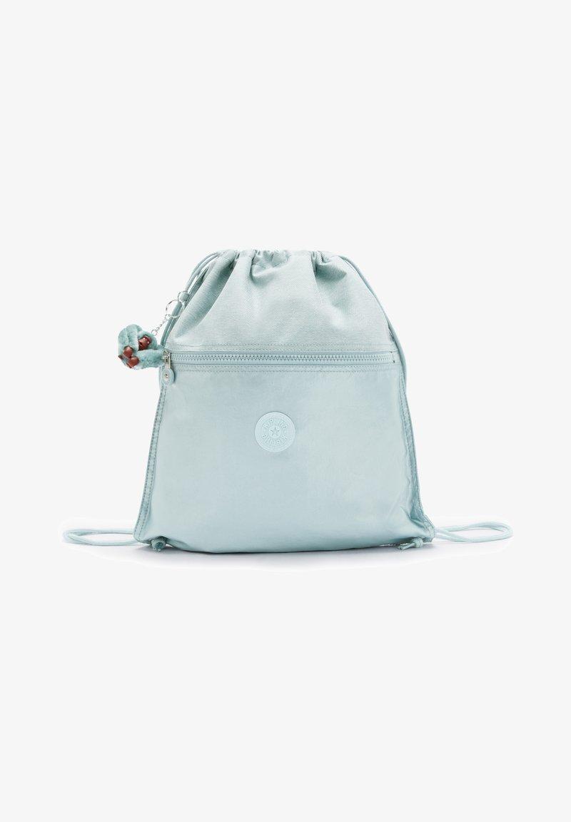 Kipling - SUPERTABOO BTS - Drawstring sports bag - airy jeans block