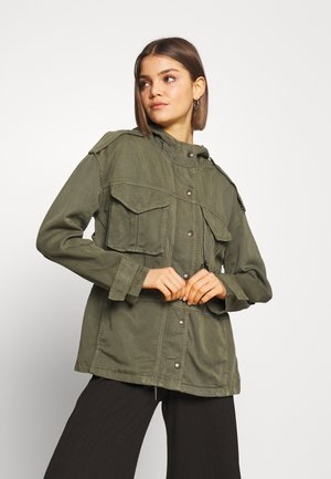 SAFARI JACKET - Summer jacket - olive