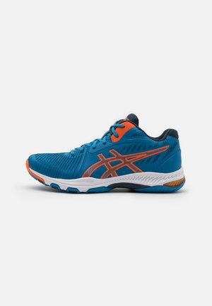 NETBURNER BALLISTIC - Volleyball shoes - reborn blue/marigold orange