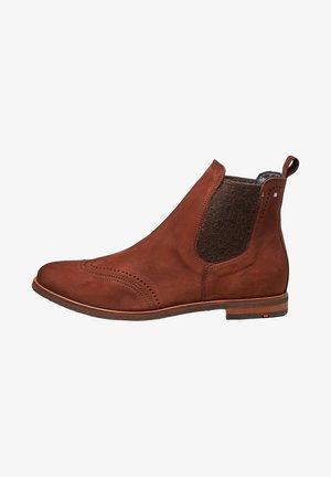 MIT SCHLAUFE - Classic ankle boots - braun