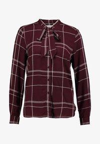 Great Plains London - AGNES CHECK - Košile - cabernet combo - 3