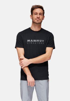 TROVAT  - T-shirt z nadrukiem - black