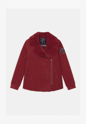 JUMBO AVAITOR - Light jacket - rouge foncé