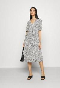 Even&Odd - Day dress - white/black - 1