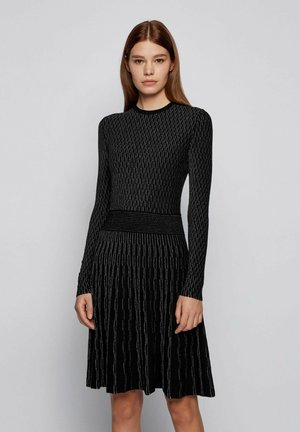 GEORGE RS UNI MC - Jumper dress - black