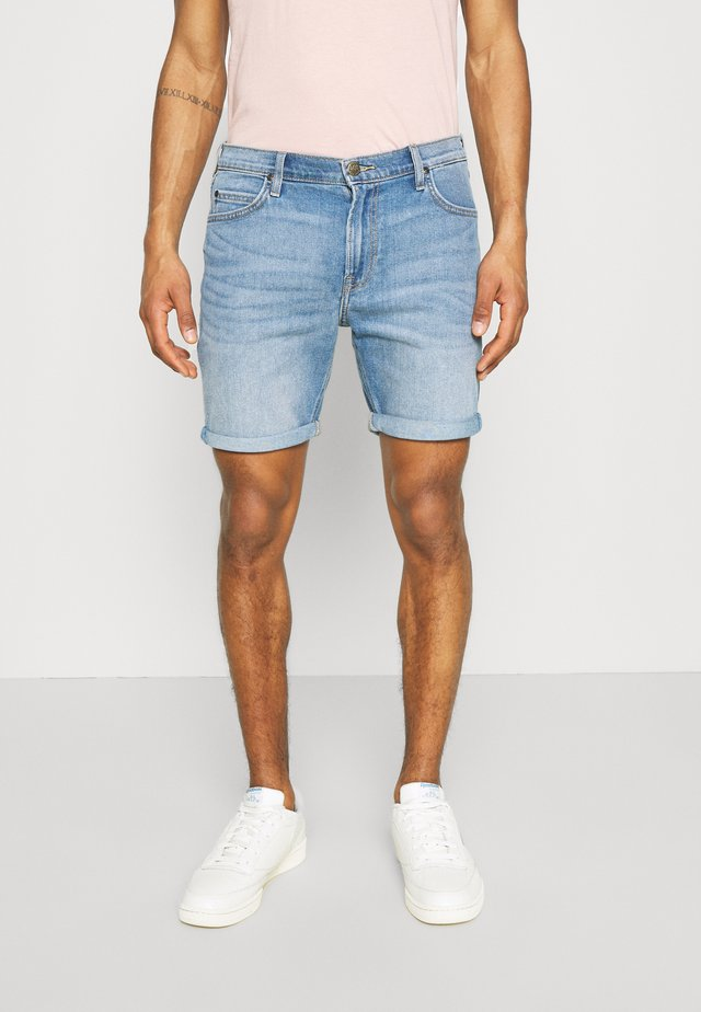 RIDER - Szorty jeansowe - maui light