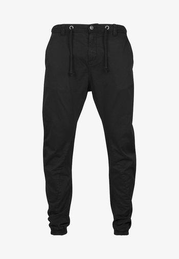 JOGGING - Cargo trousers - black