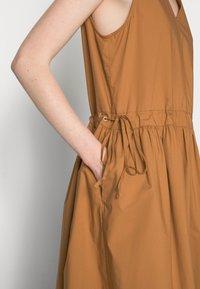 Marc O'Polo DENIM - Day dress - brown ochre - 4