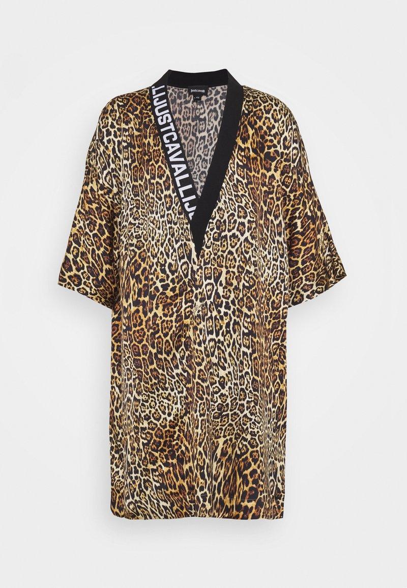 Just Cavalli - Denní šaty - brown