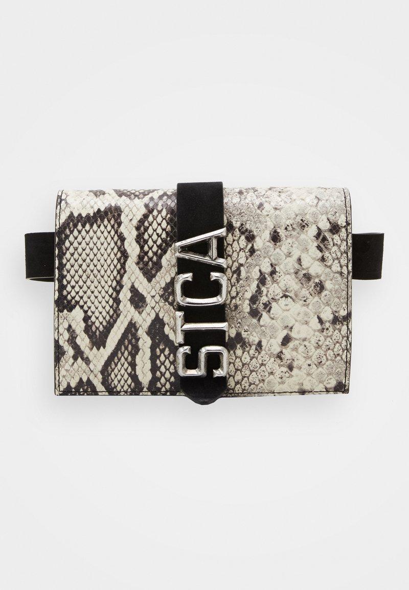 Just Cavalli - Bum bag - light grey/black