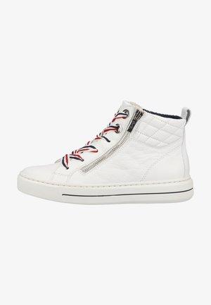 Sneakers hoog - weiss