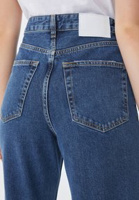PULL&BEAR - Jean slim - stone blue denim - 6