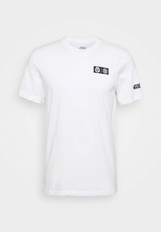STAR WARS X ELEMENT WARRIOR - Camiseta estampada - offwhite