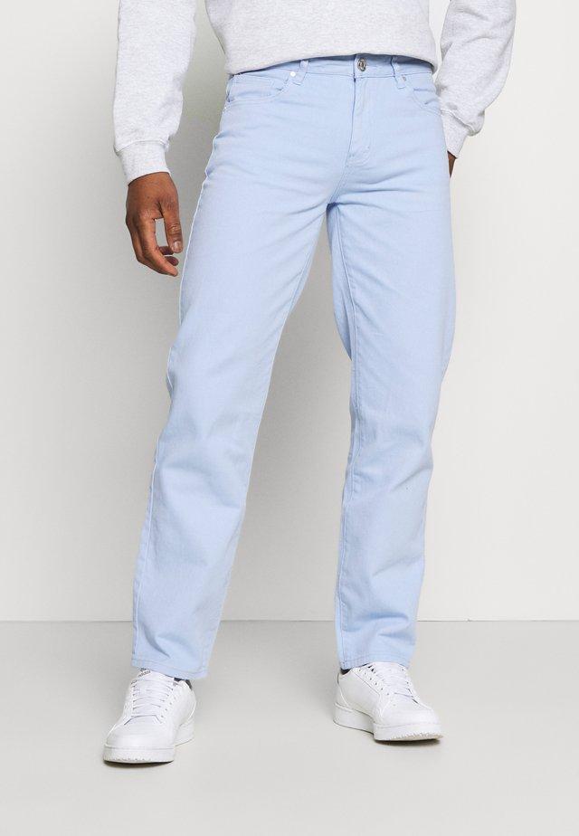 AFTERMATH STRAIGHT LEG TROUSER - Jeans Straight Leg - light blue