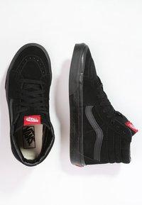 Vans - SK8-HI - Vysoké tenisky - black - 1