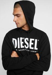 Diesel - HOOD DIVISION LOGO - Hoodie - black - 4