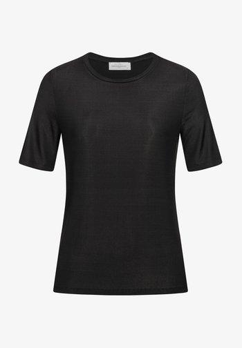 WINA - Basic T-shirt - black
