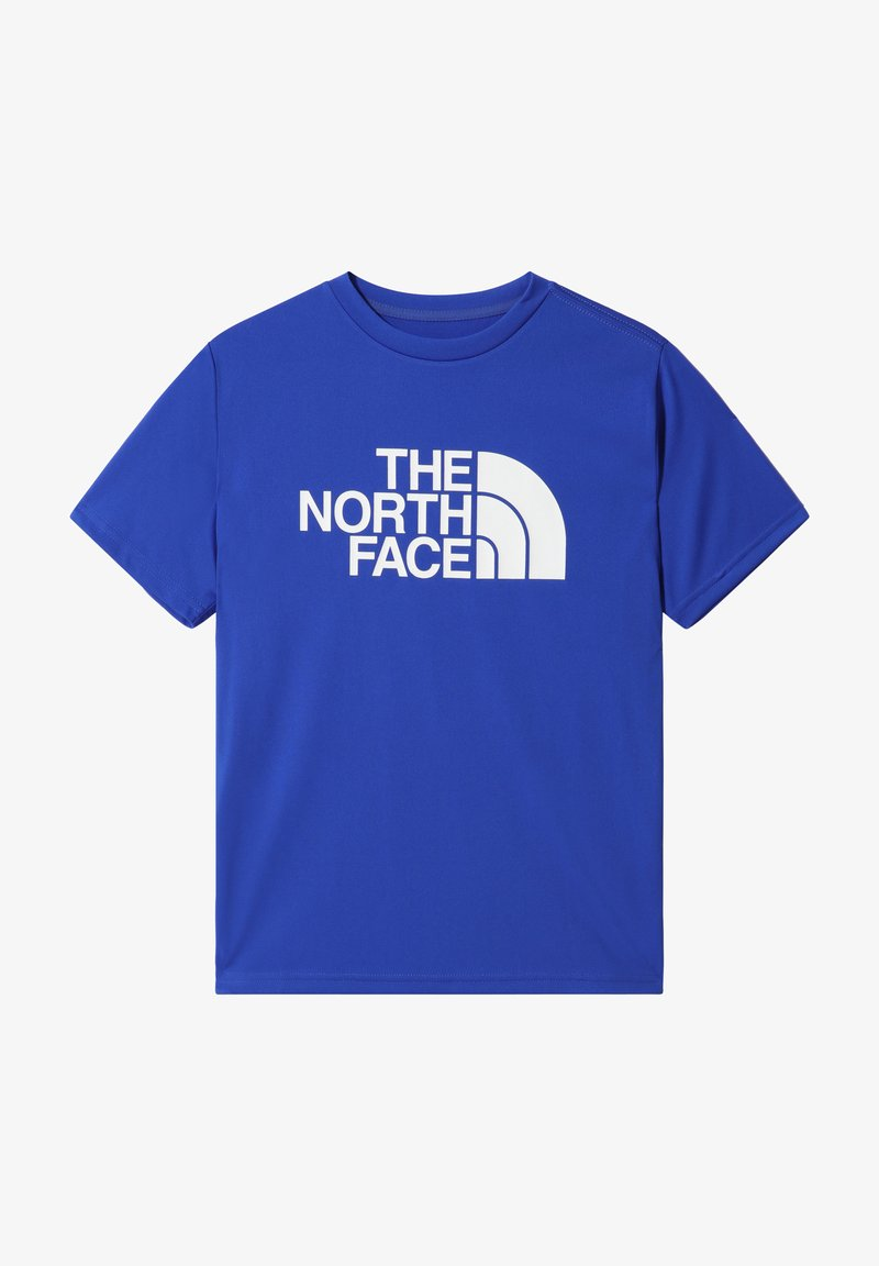 The North Face - B S/S REAXION 2.0 TEE - T-shirt print - tnf blue/tnf white