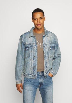 DUNMORE JACKET - Giacca di jeans - mid indigo