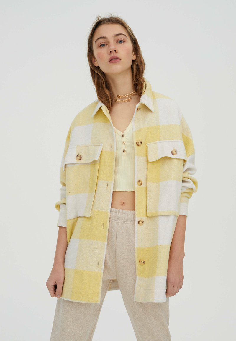 PULL&BEAR - Summer jacket - yellow
