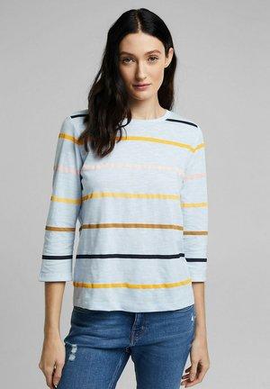 Long sleeved top - pastel blue