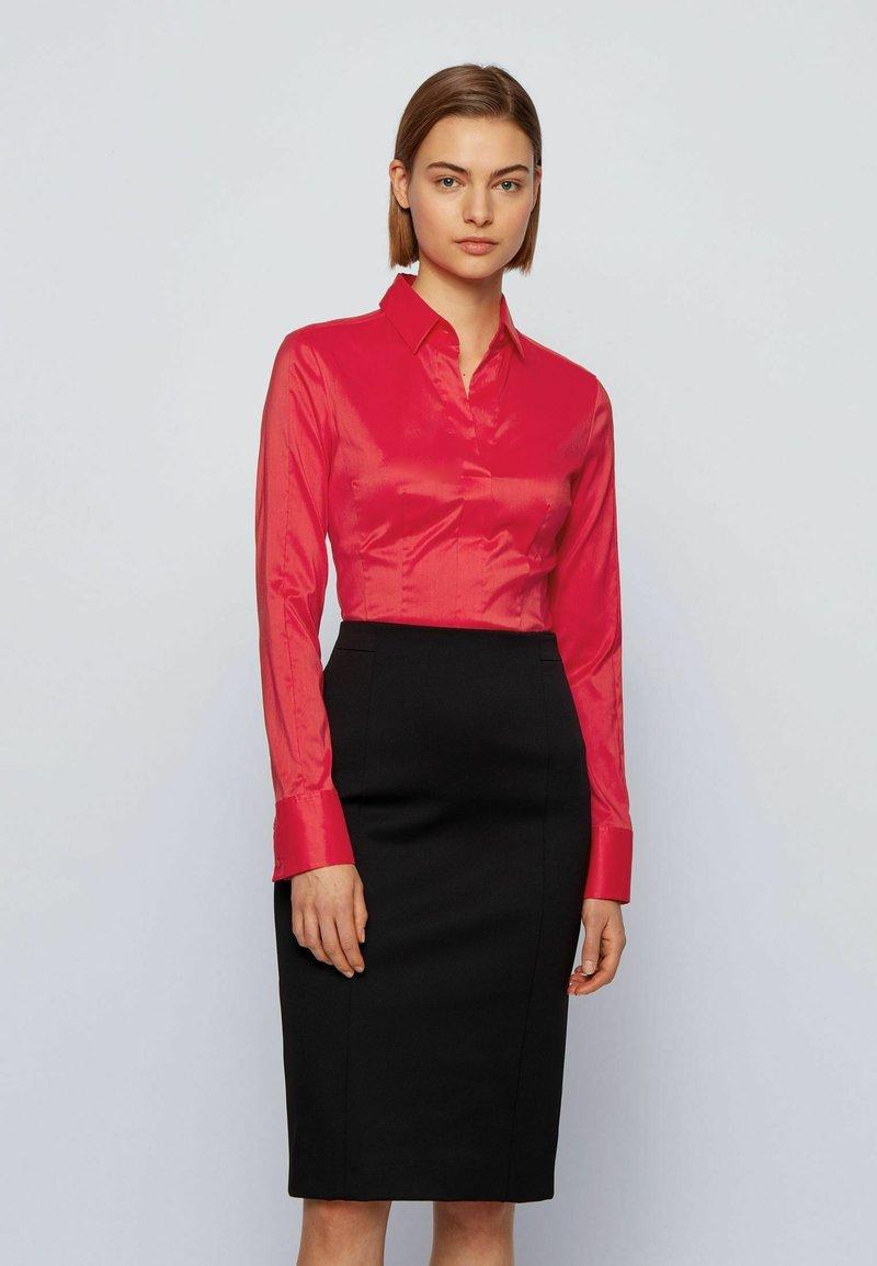 BOSS - BASHINA - Button-down blouse - pink