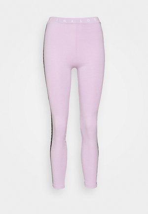CONGO TAPED - Leggings - lilac melange